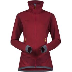 Bergans Roni Fleece Jacket Women red/burgundy